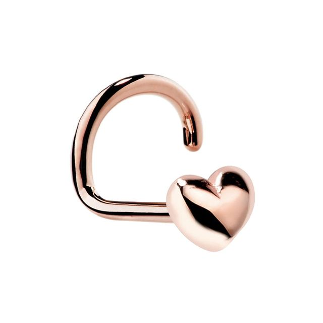 1PC Small Heart Shape Nose...