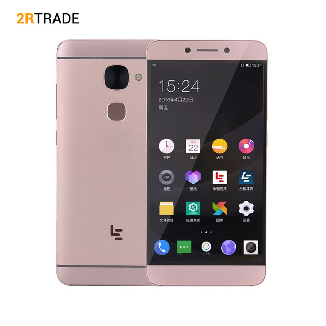 "Original Letv LeEco Le 2 Pro X625 Helio X25 CPU 4GB RAM 32GB ROM 4G LTE Mobile Phone Android 6.0 5.5"" FHD 21.0MP Fingrprint ID"