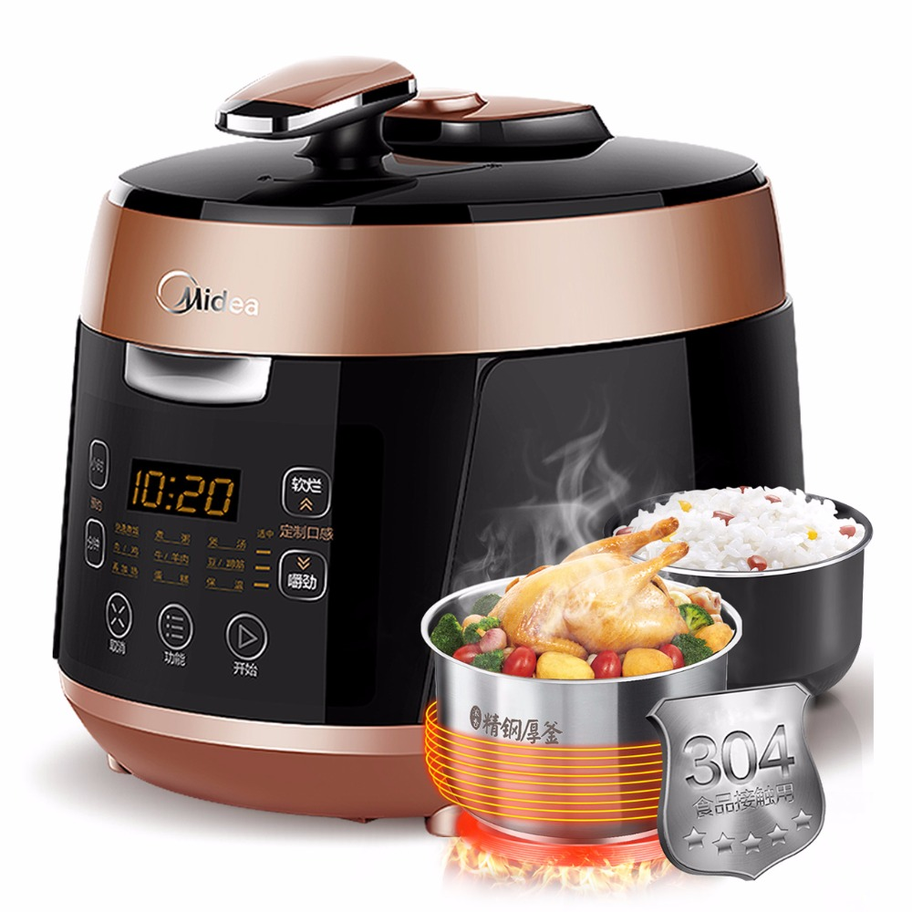 Midea Electric Pressure Cooker Double Gallbladder 5L