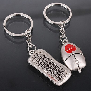"Factory directly sale wedding favor ""Lovers"" Keychain 50sets/lot key ring party favors"