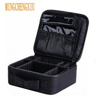 Neceser Cosmetic bag For storage Vanity Women's Professional makeup kit Beauty make up Travel gadgets organizer Cosmetics cases