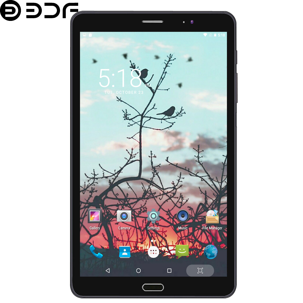 8 Inch Mobile Phone 3G Sim Card Network Tablet Pc 1GB+32GB Phablet IPS LCD Screen Tablets Quad Core Google Store Tab