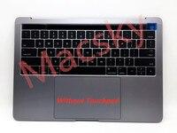 Новые оригинальные США Макет Topcase Для Macbook Pro 13 с Touch Bar 2016 2017 A1706 Топ чехол с нами QWERTY клавиатура и подсветка