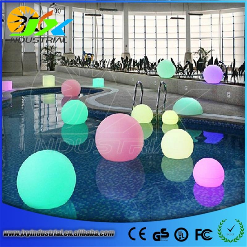 IP65 20cm floating led pool balls