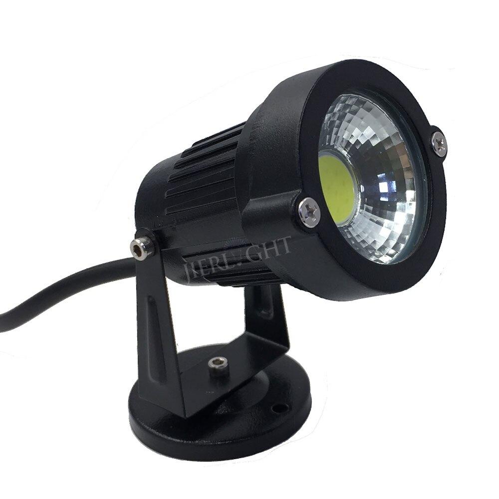 Image 3 - 10pcs Waterproof LED Garden Light 3W 5W 7W 9W 12W Garden led lamp 12V 110V 220V spike garden light Pond path flood spot lighting-in LED Lawn Lamps from Lights & Lighting