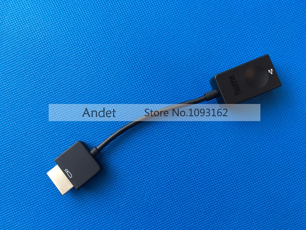 Lenovo ThinkPad Yoga 260 460 X1 Yoga Cable X1 Carbon 20FB OneLink to Ethernet Adapter Interface