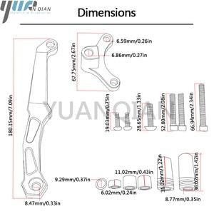 Image 5 - Motorcycle Accessories Adjustable Dampe Linear Reversed Steering Damper with bracket For Kawasaki Z800 z 800 2013 2014 2015 2016