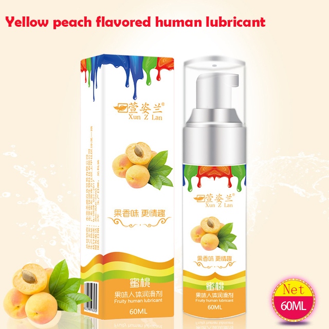 FFFSEX Five Fruit Flavor Edible Lubricants Sex Lube Water Soluble Sex Oral Lubricant Anal Vagina Silky Lubricating Gel Sex Oil