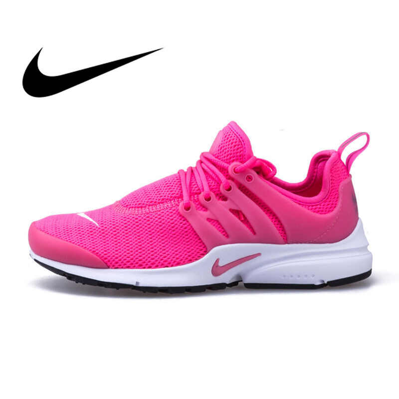 37a76d46 Оригинальные аутентичные Nike сетчатой поверхности для женщин Air Presto  кроссовки спортивная обувь женские Спорт на открытом