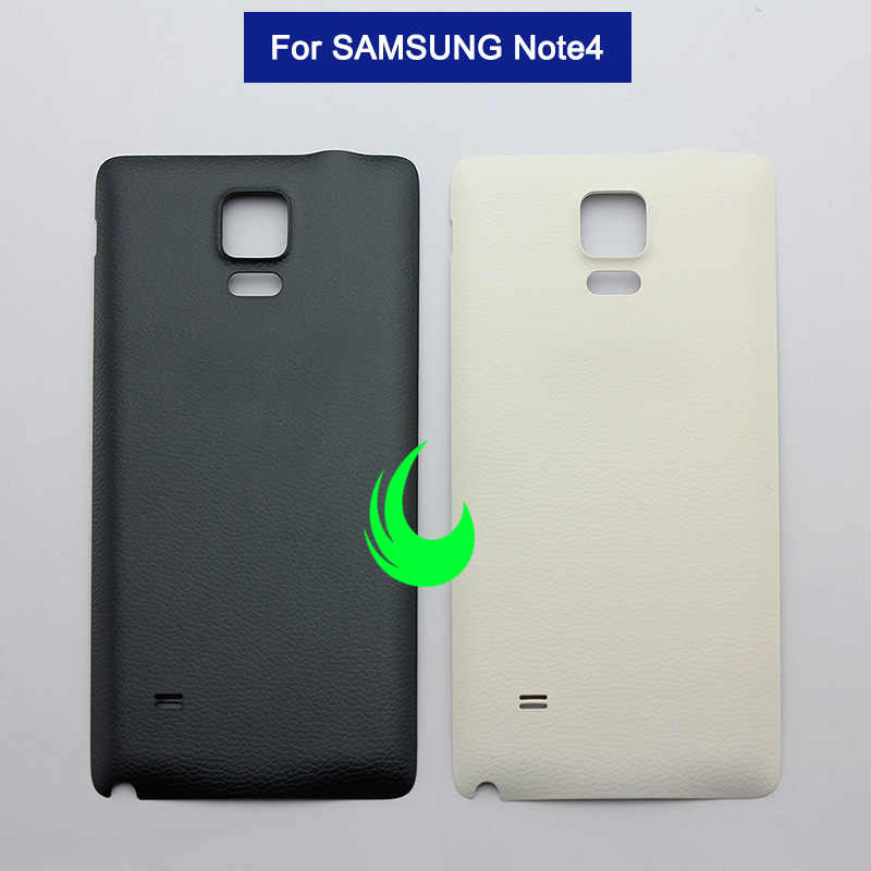 official photos 1ec24 530a9 Original For Samsung Galaxy Note4 N910 Back Battery Cover Rear Door Housing  Case Chassis For Samsung Note 4 Back Cover