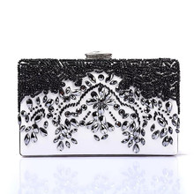 hot deal buy awague fashion women beading party banquet bag luxury chain women bags designer clutch bags evening bags