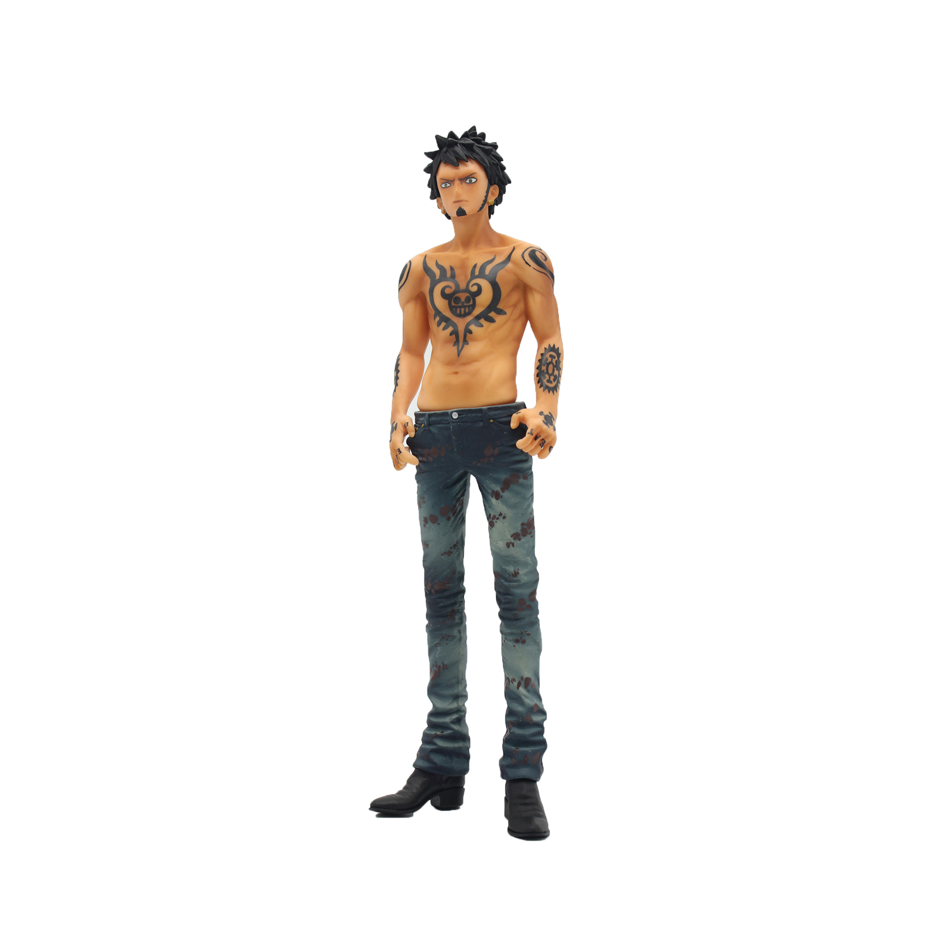 Chanycore Anime ONE PIECE DOA BIG DXF New World Trafalgar Law 26cm Action Figures PVC onepiece toys doll model collection
