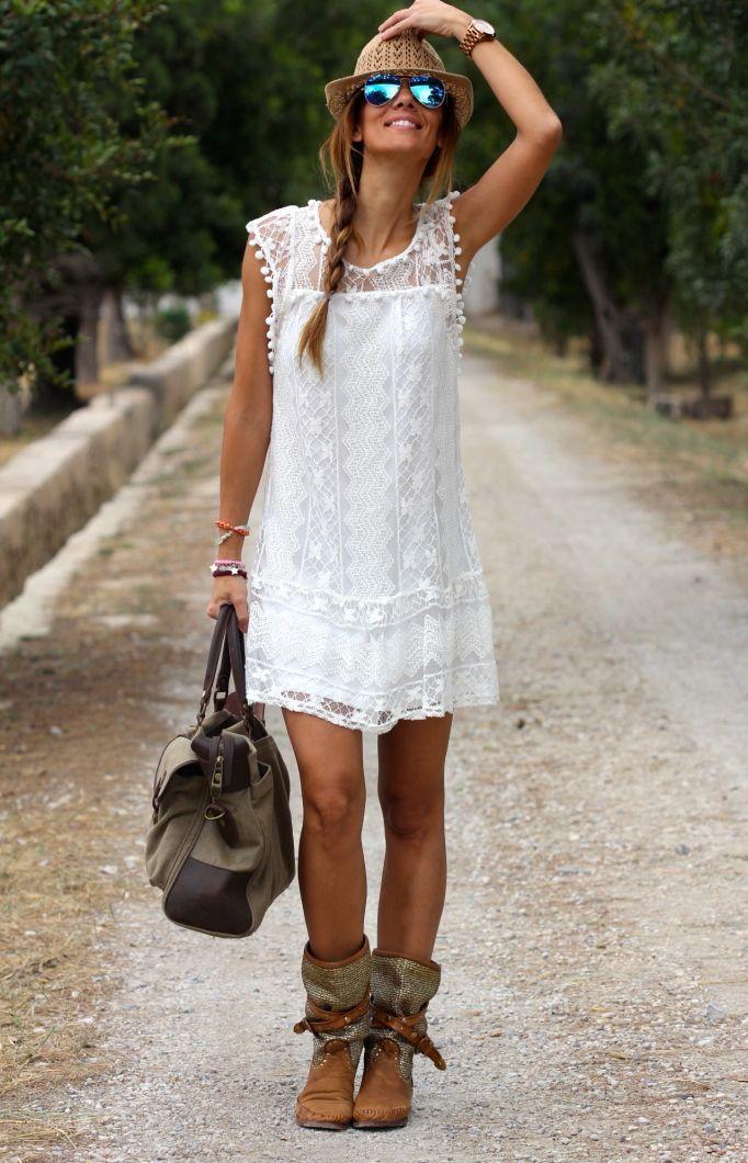 White Mini vestido 2016 New women lace branco o-neck sleeveless party dress vestido de renda plus size