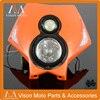 Motorcycle Motocross Supermoto Universal Headlight Headlamp For KTM EXC EXCF SX SXF EXC XCR XCW XCF