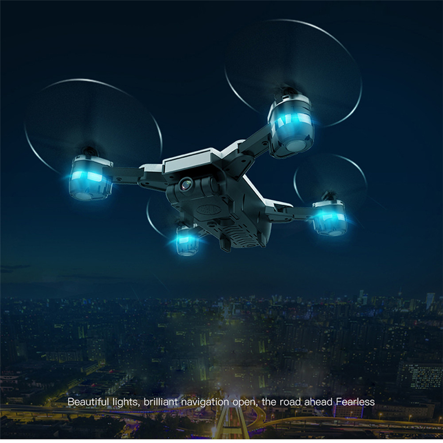 YH-19HW Wifi FPV 2MP 120FOV Video Foldable 2.4G 6-Axis Selfie Quadcopter Drone Helicopter Toys and Hobbies Drop Shipping ...