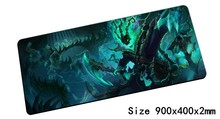 big Thresh mouse pad 90x40cm pad mouse lol notbook computer mousepad Chain Warden gaming padmouse gamer laptop mouse mats