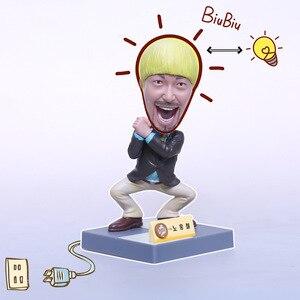Image 2 - 7pcs NEW Coreano Spettacolo di Varietà Infinita Sfida Super Star Action Figure Da Collezione Giocattoli Mascotte
