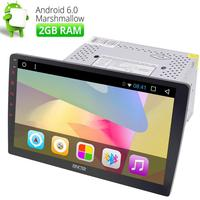 Android 6 0 2GB Double Din 10 1 HD Car GPS Navi Stereo In Dash No
