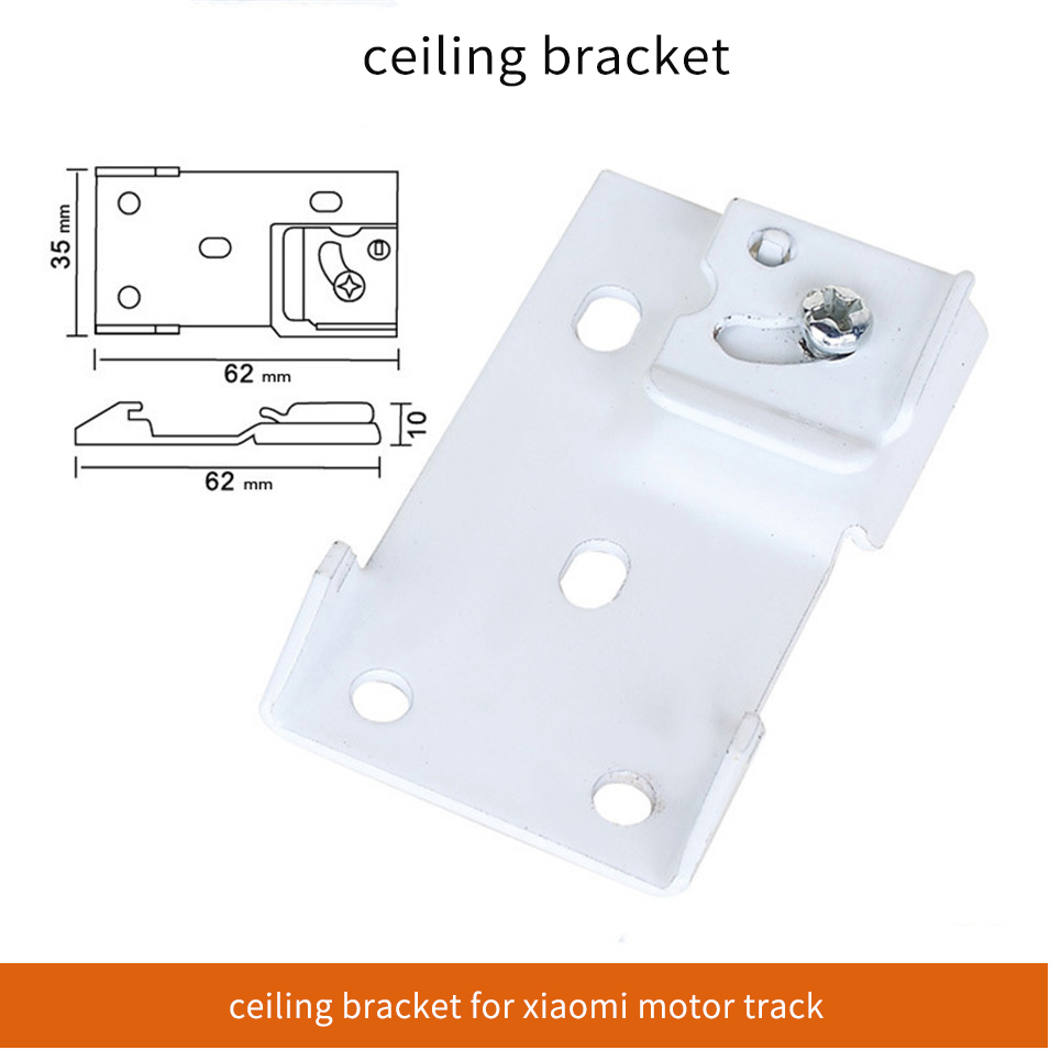Ceiling Bracket  Of Track  Fit Xiaomi Aqara Motor  For Dooya Somfy Rail Only
