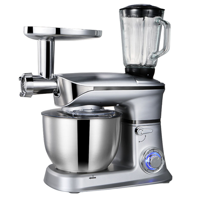 Electric Food Mixers Household 6.5L Meat Grinder Fruit Juicer Making Commercial Dough Mixer Egg Beater Machine