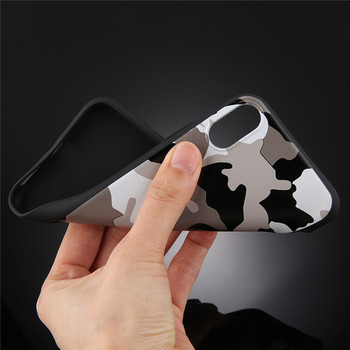 Army Green Camouflage Case For iPhones Soft TPU Silicon Phone Back Cover 2
