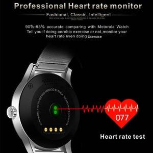 Image 2 - Greentiger K88H Bluetooth Смарт часы с пульсометром фитнес трекер Смарт часы спортивный смарт браслет для Android IOS