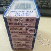 4NC DNGA150408 BNC200 4NC DNGA432 BNC200 1 teile/schachtel Sumitomo Neue original Hartmetall klinge-in Drehwerkzeug aus Werkzeug bei