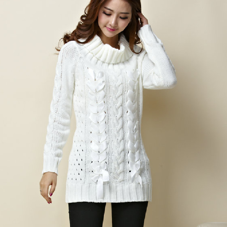 New fashion 2015 off shoulder sweater women Pullover Elegant Thick ...