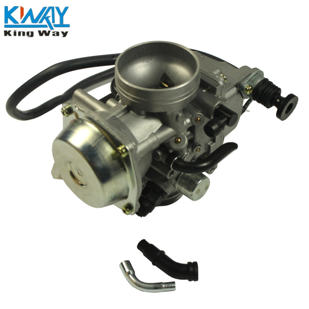 FREE SHIPPING - King Way - Carburetor With Throttle Cable For Honda TRX350 ATV 350 RANCHER 350ES/FE/FMTE/TM/ CARB PD32J