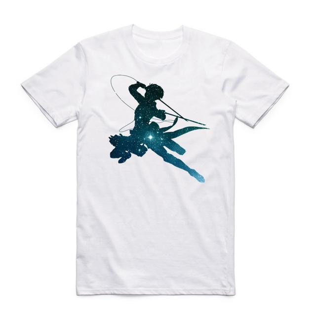 Attack On Titan O Neck T-shirt (14 Designs)