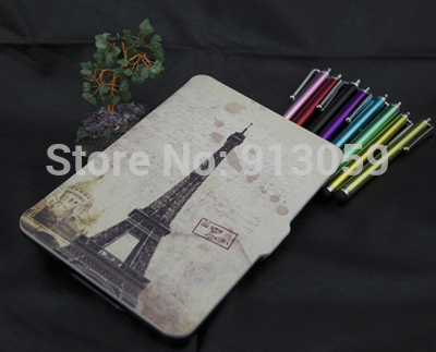 Ultra slim case funda For New amazon kindle paperwhite 1/2 2nd generation leather case +screen protector+stylus pen for kindle paperwhite case soft tpu slicone ultra slim light weight back cover case for amazon kindle paperwhite 1 2 3 film pen