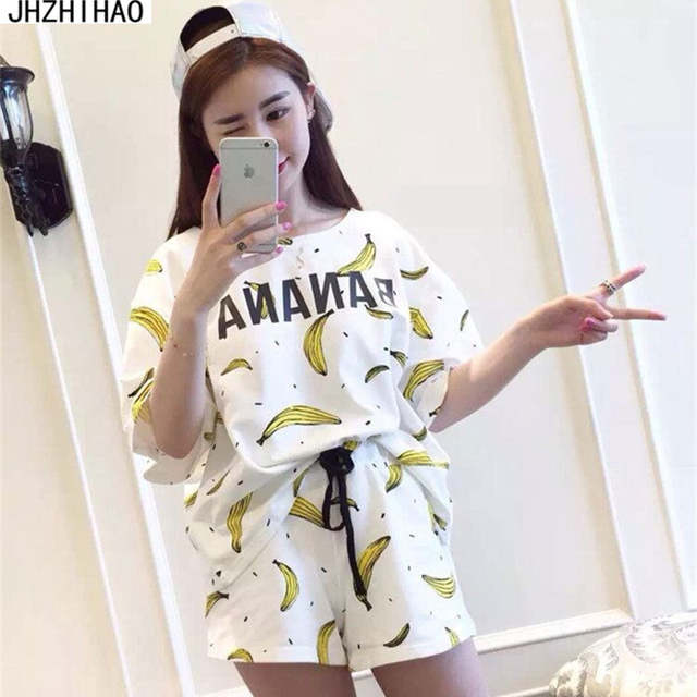 1377bd5cf3 placeholder sexy cotton women pajama sets homewear for ladies sleepwear  pyjamas women New Summer short sleeves shorts