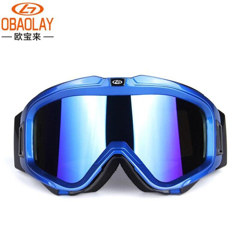 OBAOLAY nouvelles lunettes de Ski UV400 Protection Double lentille anti-buée sphérique neige snowboard lunettes pour hommes ou femmes C0705