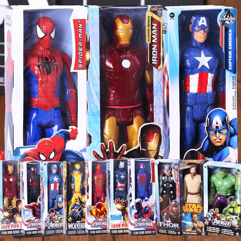 2017 Genuine Spiderman 3D doll model,Titan Hero Large