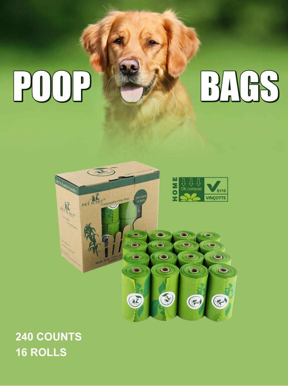 Earth Friendly Biodegradable Pet Poop Bags 46 » Pets Impress