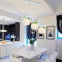 2017 LED Pendant lamp – Modern Minimalist Pendant Lights for Kitchen Dining Room,Bar American Village pendant lamp white 220V