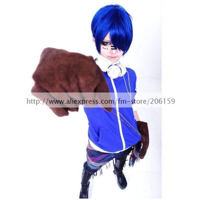 Vocaloid Matryoshka קאיטו כחול תלבושות תלבושות - תחפושות