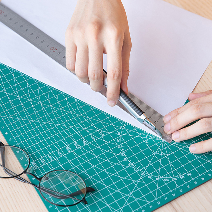 A4 Pvc Cutting Mat Self Healing Cutting Mat Patchwork Tools Craft Cutting Board Cutting Mats For Quilting