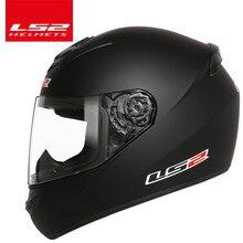 Оригинальный LS2 FF352 анфас moto rcycle шлем городские moto rbike гоночные шлемы скутер шлем casco мотошлем шлем