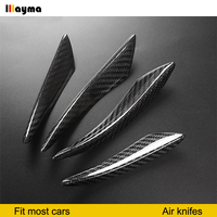 Carbon Fiber Car Air Knife DE APRONS For Audi A4 B8 B9 Z4 E89 GT 86 BRZ 3 series E90 E92 F30 F80 m3 F10 M5 w204 W205 c200 c250