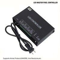 LED Pixel Controller 4 Ports (4096 Pixels) Support Art Net Protocol for MADRIX Jinx! Resolume Or Marster Controller (H803TV)
