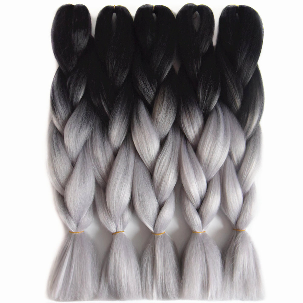 Ombre Synthetic United Gray