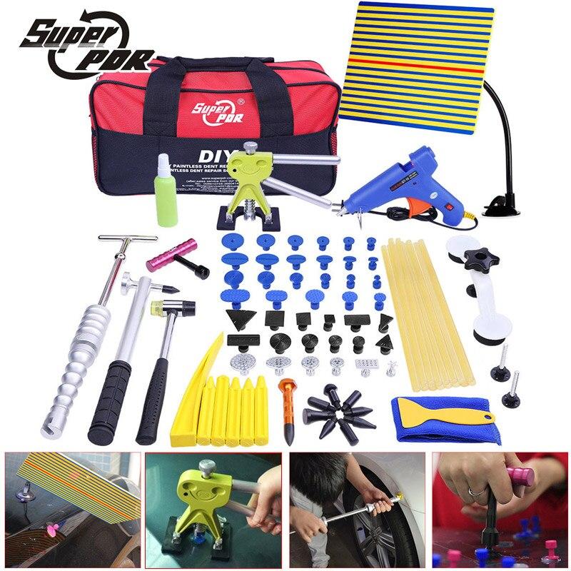 PDR Outils Kit Débosselage Débosselage sans peinture Outils De Voiture Dent À Lisser Les Bosses Instruments outils à main