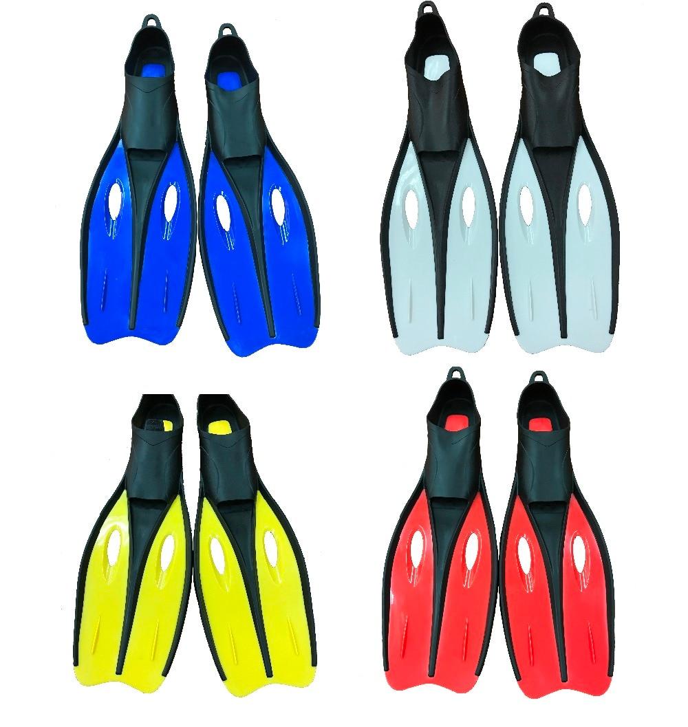 Бесплатная доставка. Размеры s (35-37) дайвинг, оборудование для дайвинга, ласты (4 варианта цвета желтый/белый/красный/синий) ...