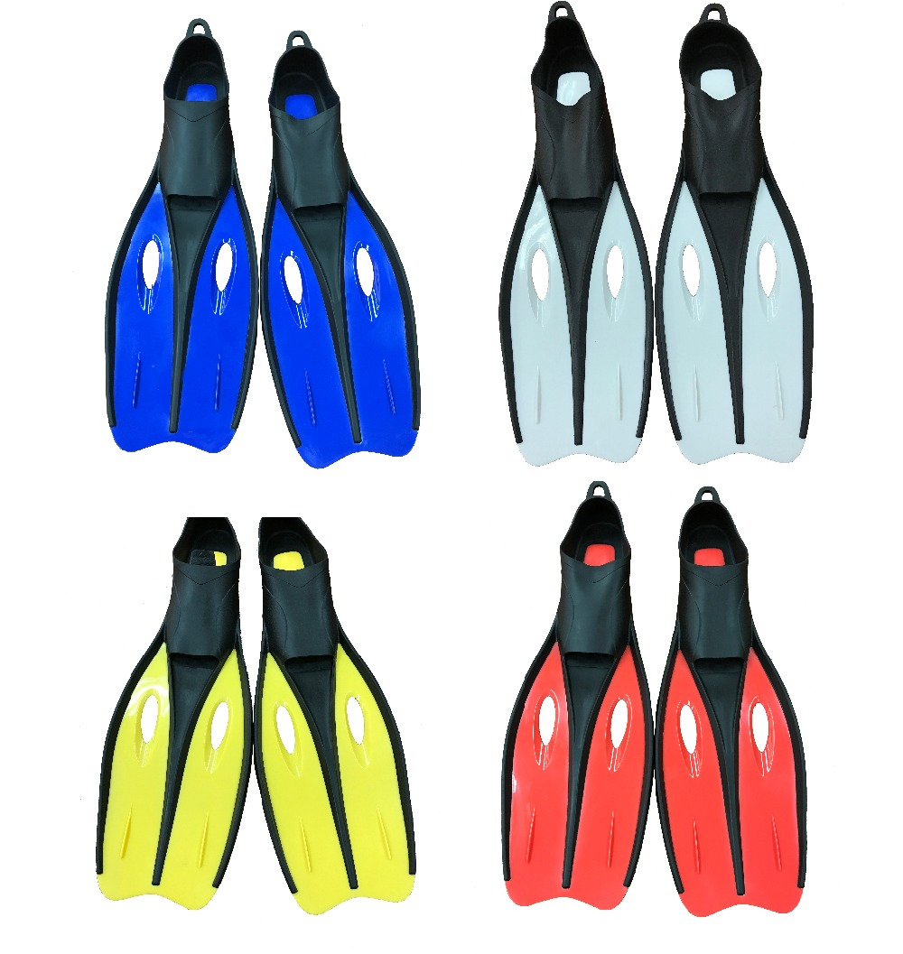 Free shipping. Sizes S (35-37) diving fins diving equipment (4 color options Yellow/White/Red/Blue ) ...