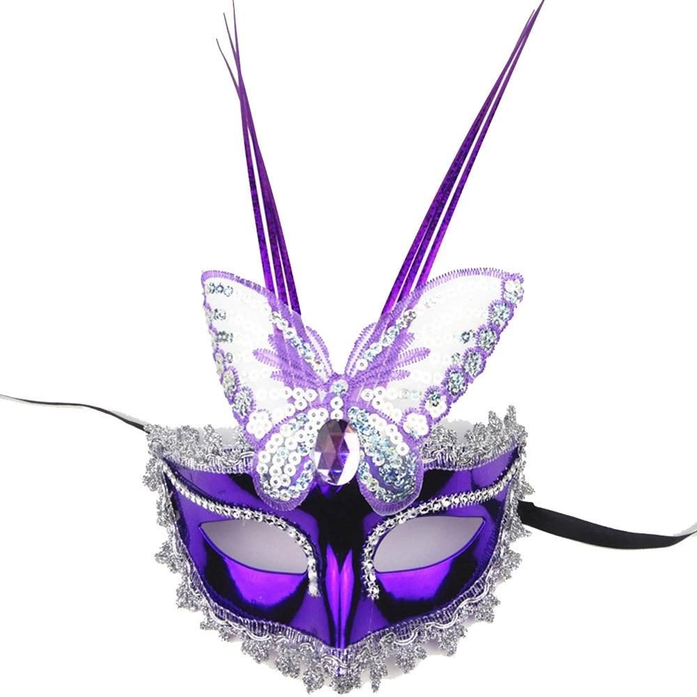 Symbool Van Het Merk Galvaniseren Gloeiende Vlinder Masker Maskerade Partij Prinses Masker 17oct12 Verpakking Van Genomineerd Merk