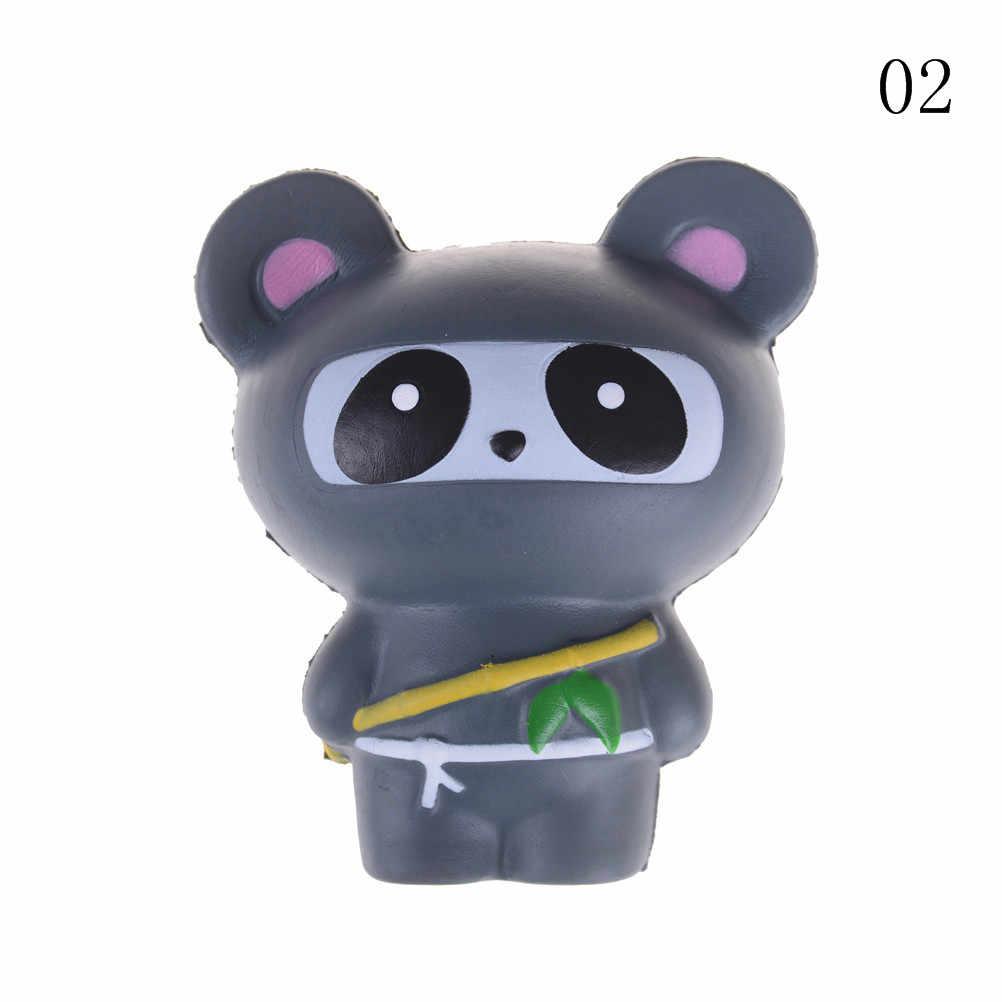 Scatola di latte/Banana/Cat/Artiglio/orso Squishy Animale Pendenti e Ciondoli Kawaii Focacce di Pane Del Telefono Cellulare Key/ borsa Pendente Della Cinghia Ninja Panda/Orso/Fox