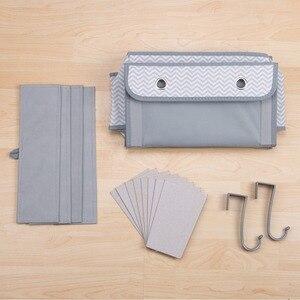 Image 4 - 4 kieszenie drzwi ściany wiszące bagażu organizator z hak oszczędność miejsca uchwyt do przechowywania torba na zabawki szafy w sypialnia salon
