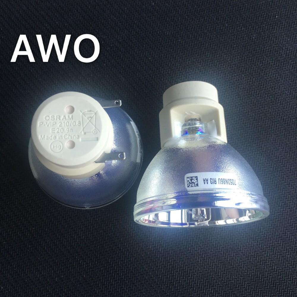 1pcs 100% New Original Projector Bulb Lamp P-VIP210/ 0.8 E20.9 for Benq  ACER  OPTOMA  Projectors mp780st mp780st projector lamp bulb 5j j0605 001 for benq new original