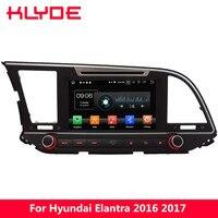 KLYDE 8 4G WIFI Android 8.0 Octa Core PX5 4GB RAM 32GB ROM BT Car DVD Player Radio GPS Navigation For Hyundai Elantra 2016 2017